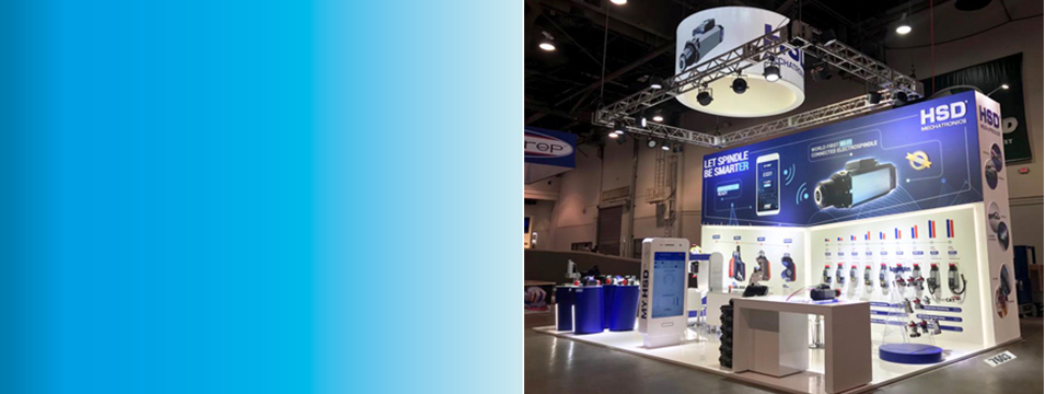 HSD at AWFS- LAS VEGAS - World first Wi-Fi connected Electrospindle