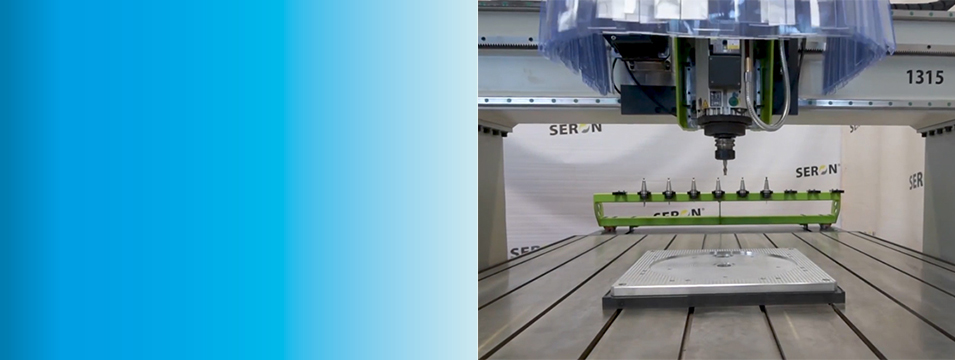 New Seron CNC Machine with HSD Spindle